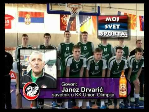 Janez Drvaric - KK Union Olimpija - turnir Valjevo 2015