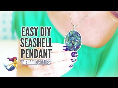 easy-diy-seashell-pendant:-simple-jewelry-craft