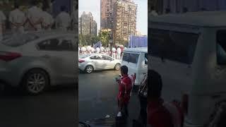 الأمن يزيل سور نادى الزمالك المخالف (صور وفيديو) - القاهرة 24