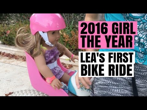 2016 Girl Of The Year Lea Clark's First Bike Ride - American Girl Doll