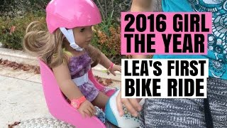2016 Girl Of The Year Lea Clark's First Bike Ride - American Girl Doll