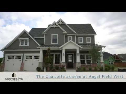 Southgate Homes at Angel Field West in Allen Texas -The Charlotte Floorplan