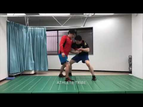 #0072 差し wrestling techniques and training レスリング