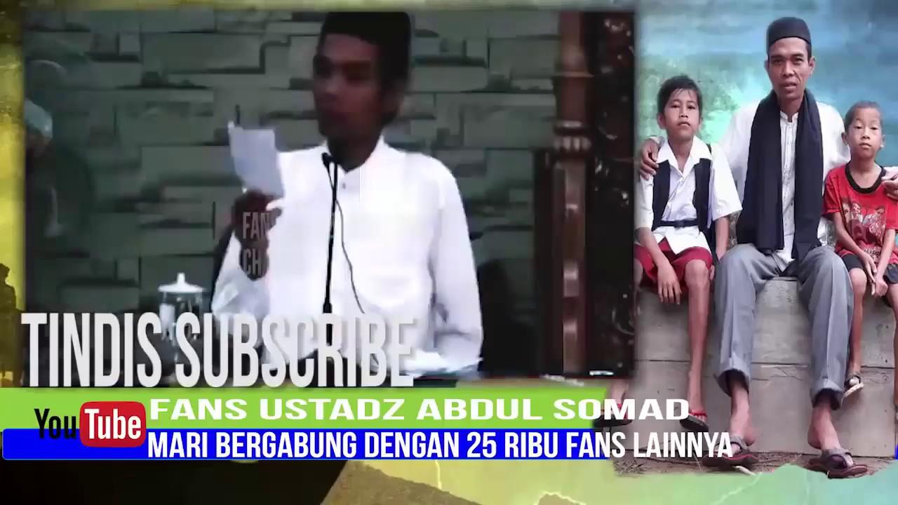 USTADZ ABDUL SOMAD - TA'ARUF SEBELUM MENIKAH - YouTube