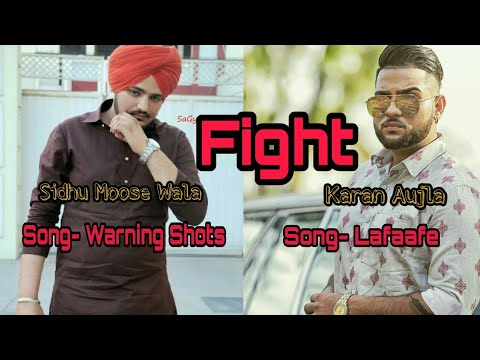 Warning shots sidhu moosewala reply to karan aujla's lafaafe song