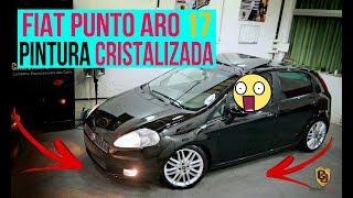 FIAT PUNTO ARO 17 + PINTURA CRISTALIZADA, SERÁ QUE FICOU BOM ?