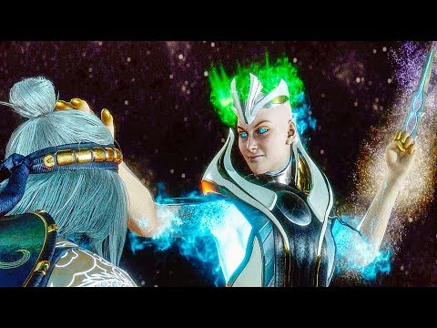 Kronika Kills Fire God Liu Kang Scene Mortal Kombat 11 Youtube