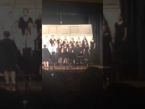 Taylorview middle School mixed choir first concert 2019