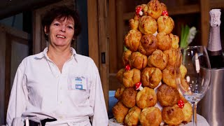 Dessert voor kerst: croquembouche