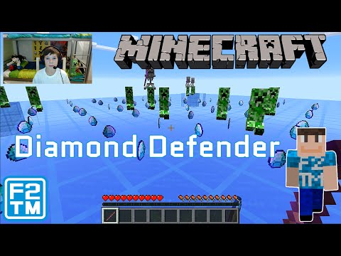 Minecraft Diamond Defender Kid Gamer