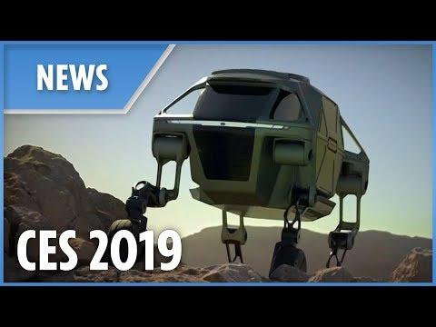 CES: Hyundai launch walking car