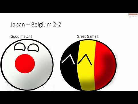 World Cup 2002 in countryballs