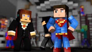 Minecraft : AUTHENTIC VIROU UM VAMPIRO? Festa Fantasia !!  (Build Battle)