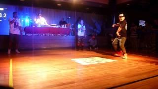 2on2 freestyle dance battle 2012 沖縄