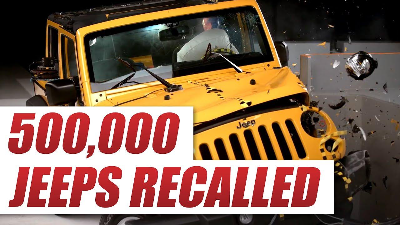 2008 jeep wrangler clock spring recall