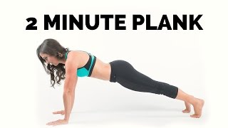 Holding plank for 2 minutes. Twins battle for holding plank.