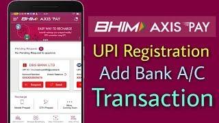 Nasıl Kayıt BHİM Eksen UPI | Ödeme, Banka AC, UPI İşlem & nasıl kullanılır Link