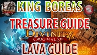 Divinity: Original Sin - King Boreas Treasure Guide - Getting Past Lava Guide - Hiberheim Castle