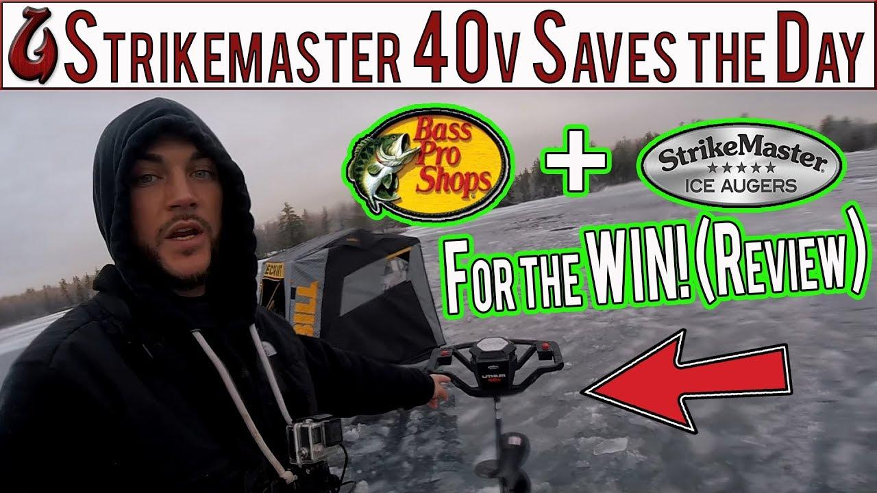 StrikeMaster Lithium 40V Ice Auger 10
