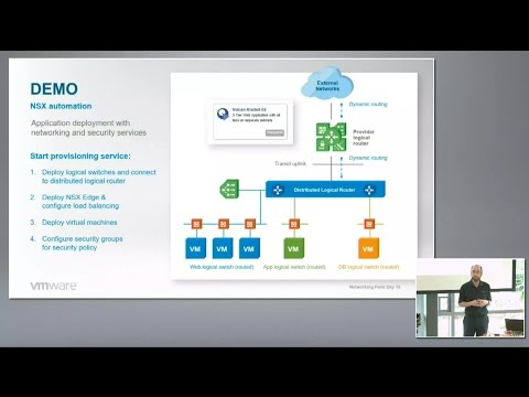 VMware NSX Automation with Ray Budavari