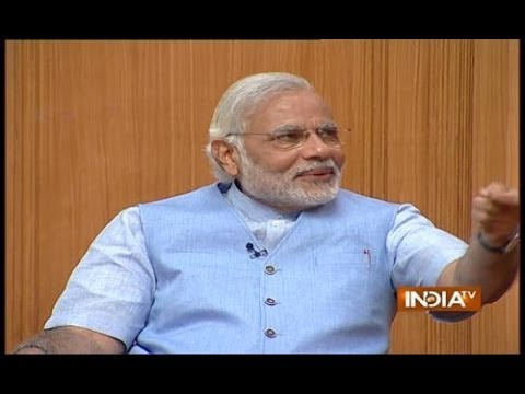 PM Candidate Narendra Modi in Aap Ki Adalat 2014 (Part 2) - India TV