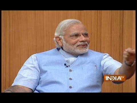 PM Candidate Narendra Modi in Aap Ki Adalat 2014 (Part 2) - India TV