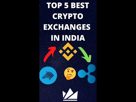 Top Five Best Crypto currency exchange in India #shorts #trending #YoutubeShorts