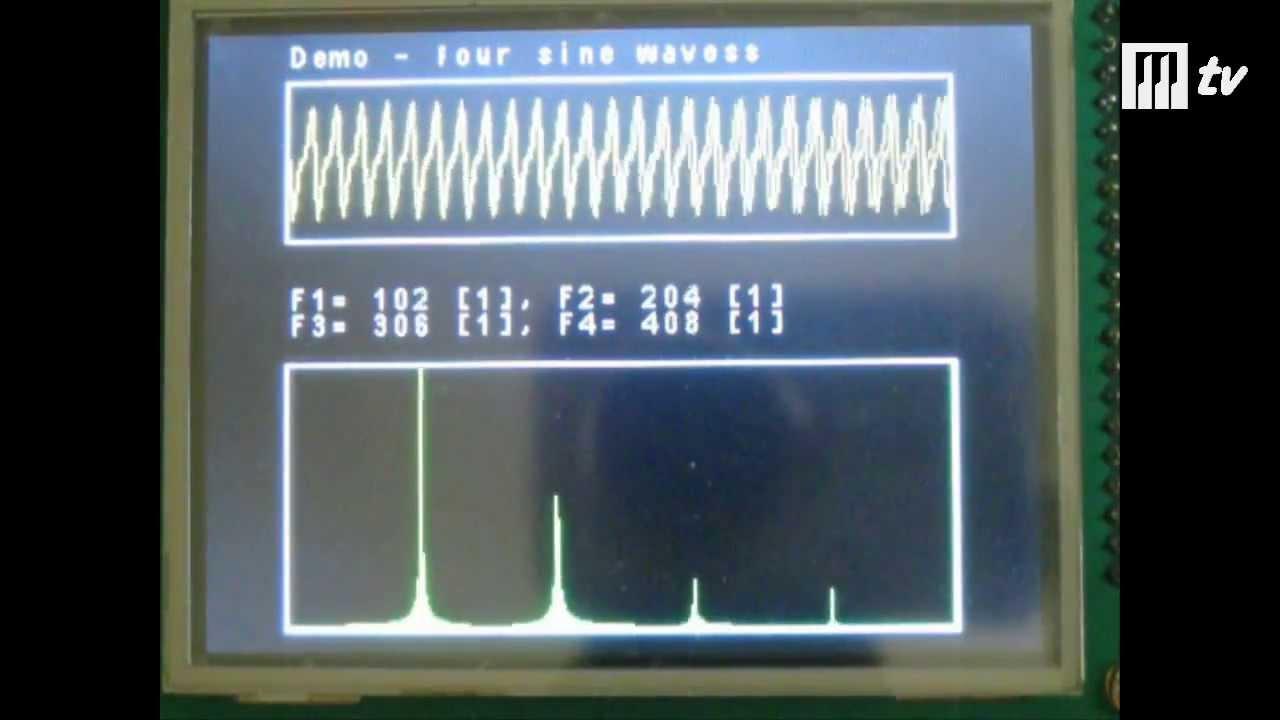 Analizator widma FFT na STM32