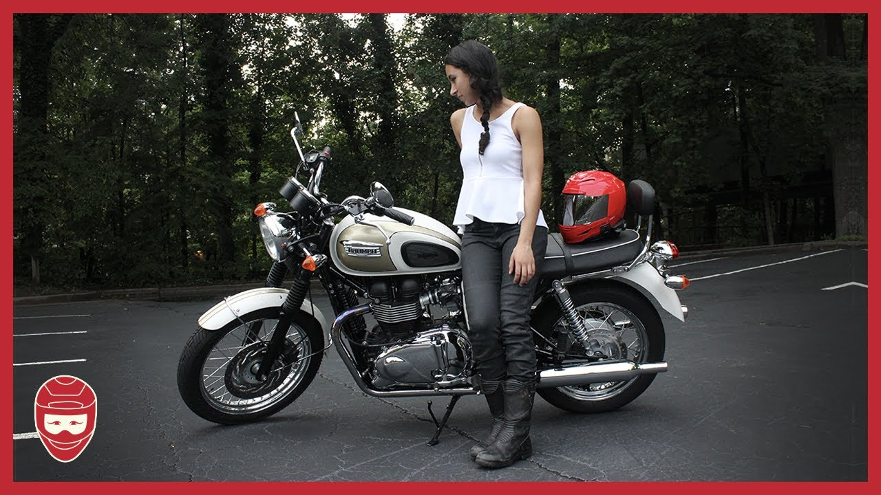 Is The Triumph Bonneville T100 Too Big For Me Youtube