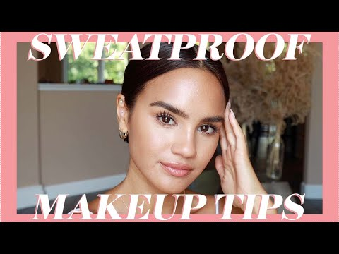 Sweatproof Makeup Tips - YouTube