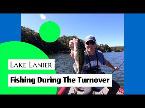 Lake Lanier   Fishing During The Turnover