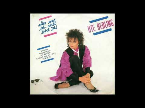 Ute Berling  Alles, was ich will, bist du Whitney Houston  Saving all my love for you
