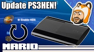 How to Update PS3HEN from XMB or PC!