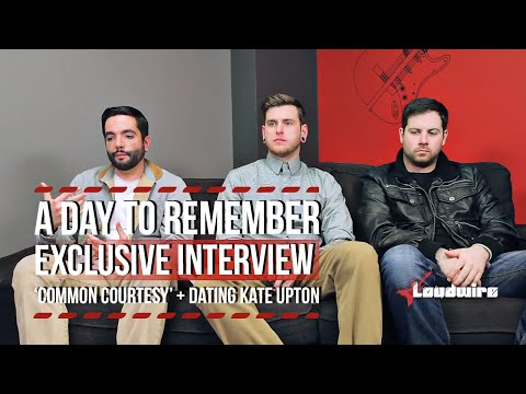 A Day To Remember Talk 'Common Courtesy,' Dating Kate Upton + More