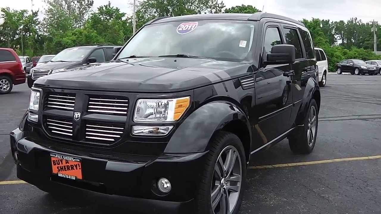 2011 dodge nitro shock suv black for sale dayton troy piqua sidney ohio 26742at youtube