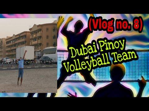 (Vlog no. 8) Dubai Pinoy Volleyball Team