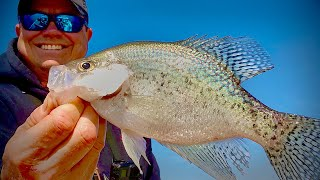 Pre-Spawn Crappie Fishing with Jigs and Minnows