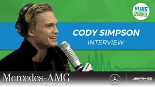 Cody Simpson on Starring in Anastasia on Broadway | Elvis Duran Show