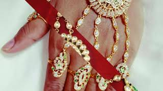 Hathful design  this is beautiful design diamond  Ambrose design and five rings and beautiful design