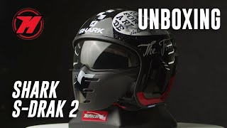 Unboxing casque SHARK S-DRAK 2, unique et moderne! 🏍️