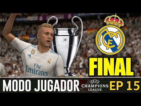 ¡¡FINAL UEFA CHAMPIONS LEAGUE!! DESPEDIDA DE KEVINICIUS | FIFA 18 Modo ''Jugador'' Real Madrid #15