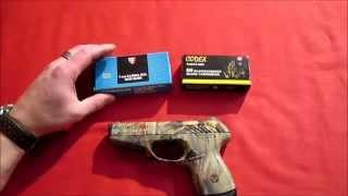Gun Runner & DEE BO Special / Röhm Vektor CP1 Camouflage Kaliber 9mm P.A.K. Review