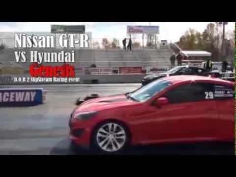 Nissan GT R vs Hyundai Genesis