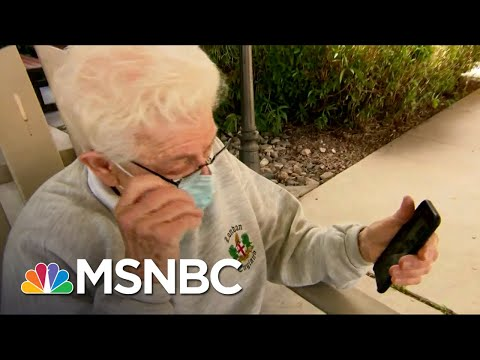 This is a reunion in the making. | Vaughn Hillyard | MSNBC