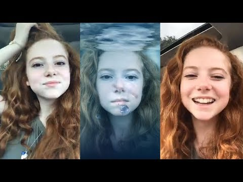 Francesca Capaldi  Instagram Live Stream  4 December 2017