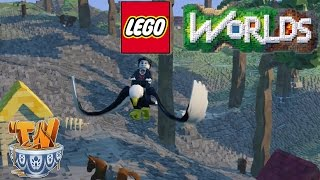 Lego Worlds : The Eagle Has Landed! -  [Ep. 8]