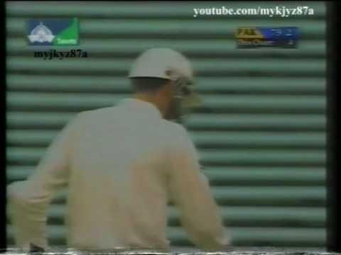 Misbah-ul-Haq 1st International Inning,1st Run & 1st Four - 28 vs Nz at Auckland 2001