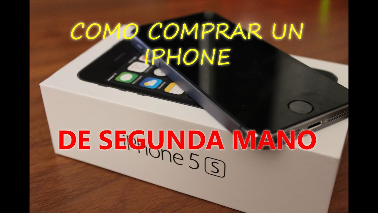 Como comprar un iphone reacondicionado