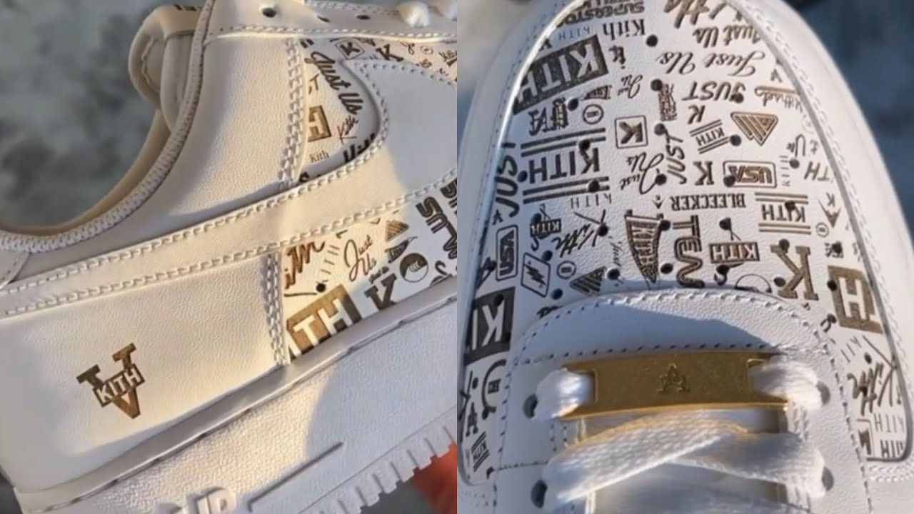 Ronnie Fieg Shows Off Unreleased KITH x NIKE Air Force 1 🔥