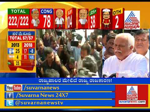 Election Election Result Live :  RV Deshpande Reacts To Congress - JDS Alliance To Form Govt